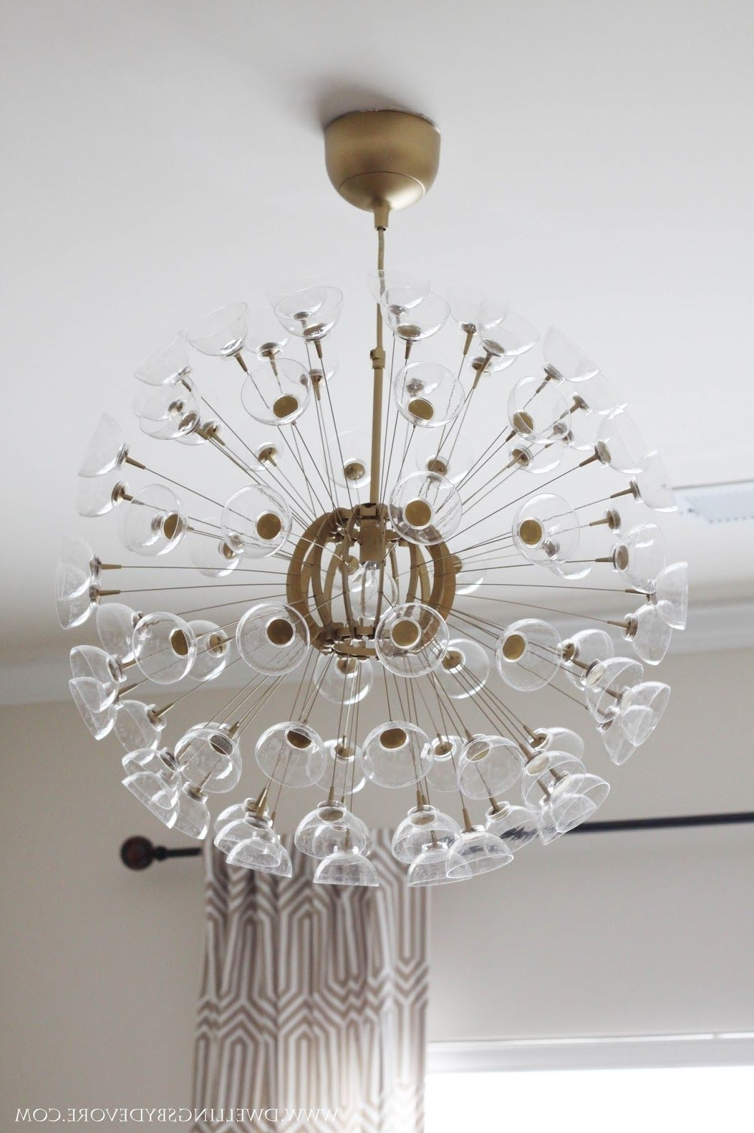 Famous Mini Sputnik Chandeliers With The Other Day I Mentioned That I Was Working On A Little Makeover (View 5 of 20)