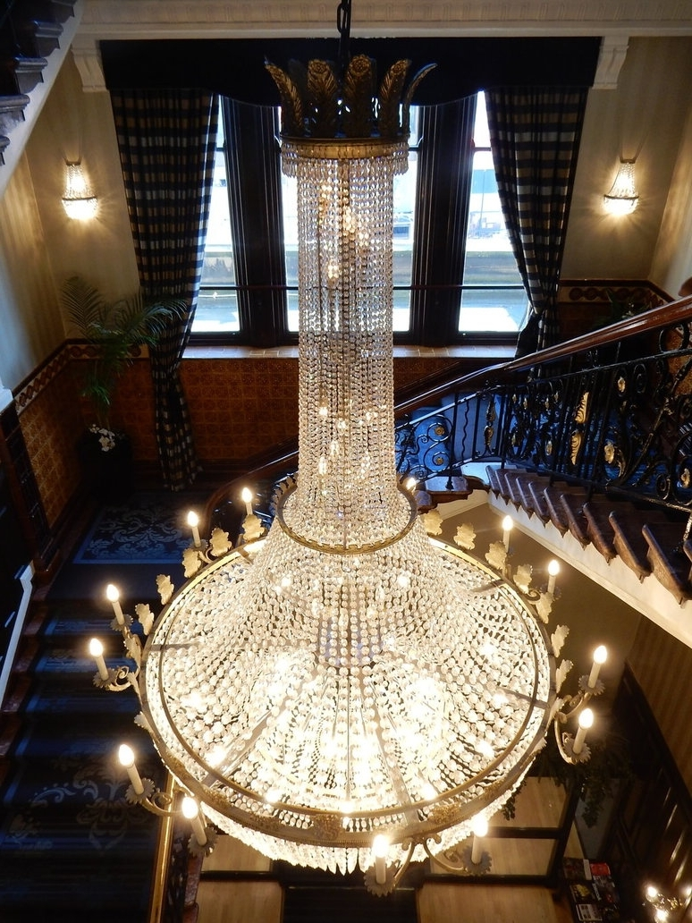 Famous Newcastle Royal Station Hotel Chandelierrlkitterman On Deviantart Within Hotel Chandelier (View 12 of 20)