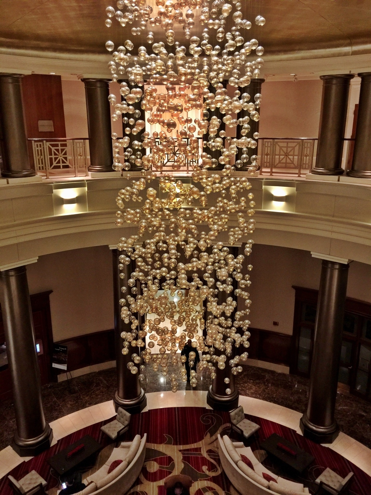 Famous Providence Hotel, Providence, Rhode Island – Lobby Chandelier (View 4 of 20)
