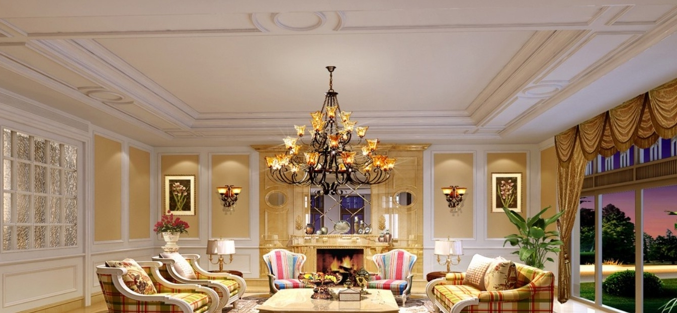 Famous Transform Your Living Space With The Finest Chandeliers And In Chandelier Lights For Living Room (View 8 of 20)