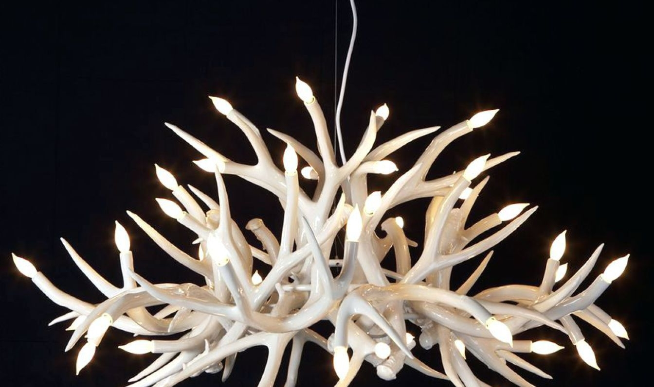 Fascinating Foscarini Caboche Ball Chandelier Tags : Foscarini Pertaining To Newest Modern Antler Chandelier (View 4 of 20)
