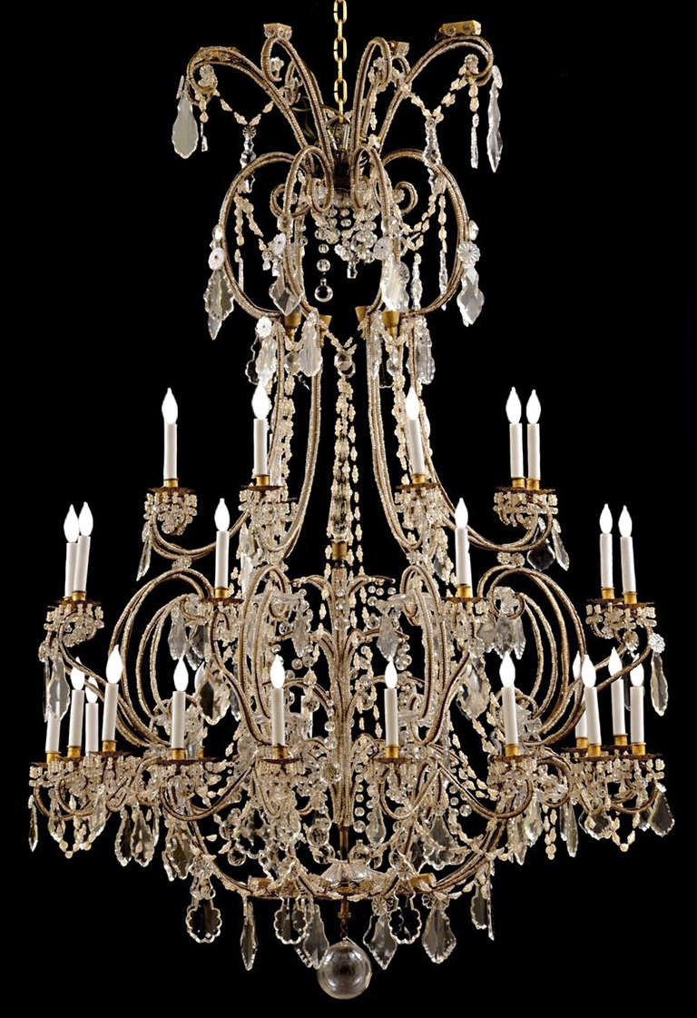 Fashionable Baroque Chandelier In Italian Chandelier Baroque (View 7 of 20)