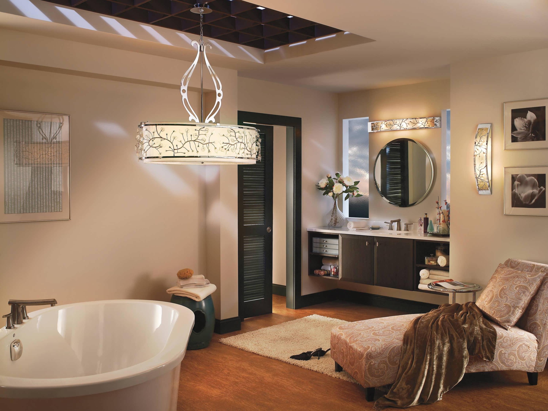 Fashionable Chandelier Black Mini Store Dining Room Bathroom Lighting Ideas Over Inside Chandelier Bathroom Lighting (View 4 of 20)
