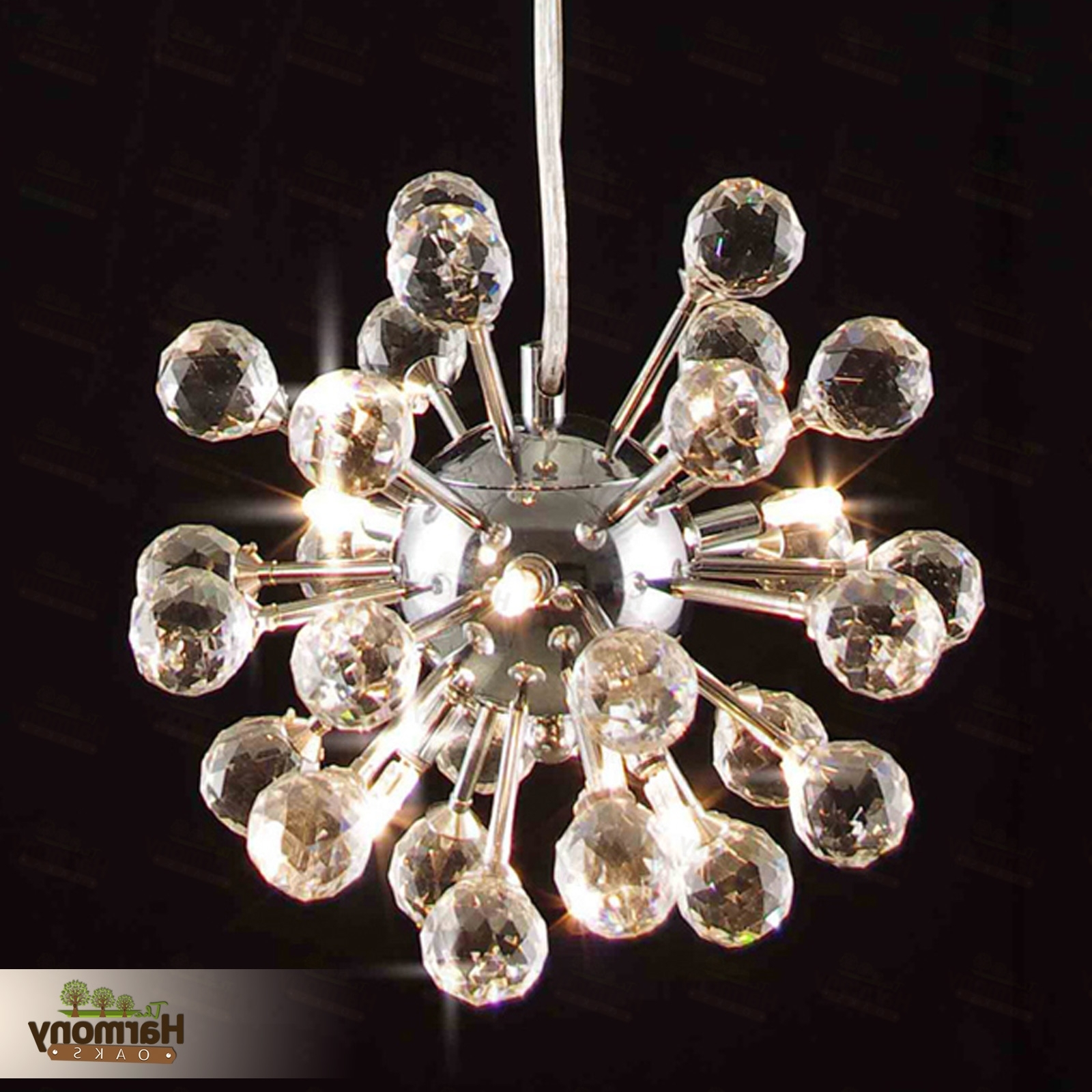 Fashionable Chandelier Crystal Light Vintage Ceiling Art Glass Lighting 6 Modern For Modern Glass Chandeliers (View 9 of 20)