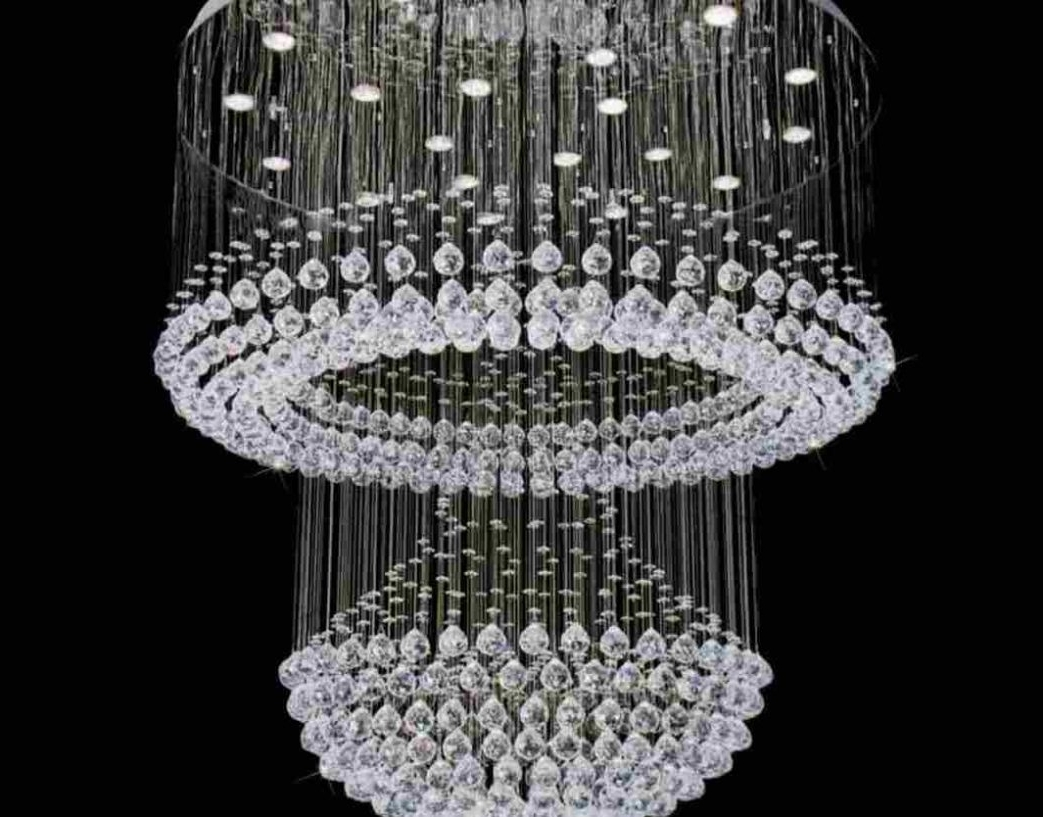 Fashionable Chandeliers Crystals Andghts Grey Pearl Chandelier Earringsght Drum For Grey Crystal Chandelier (View 6 of 20)