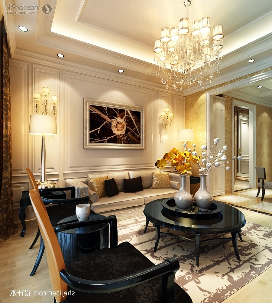 Fashionable Chandeliers Design : Amazing Stylish Decoration Chandelier For Throughout Living Room Chandeliers (View 7 of 20)