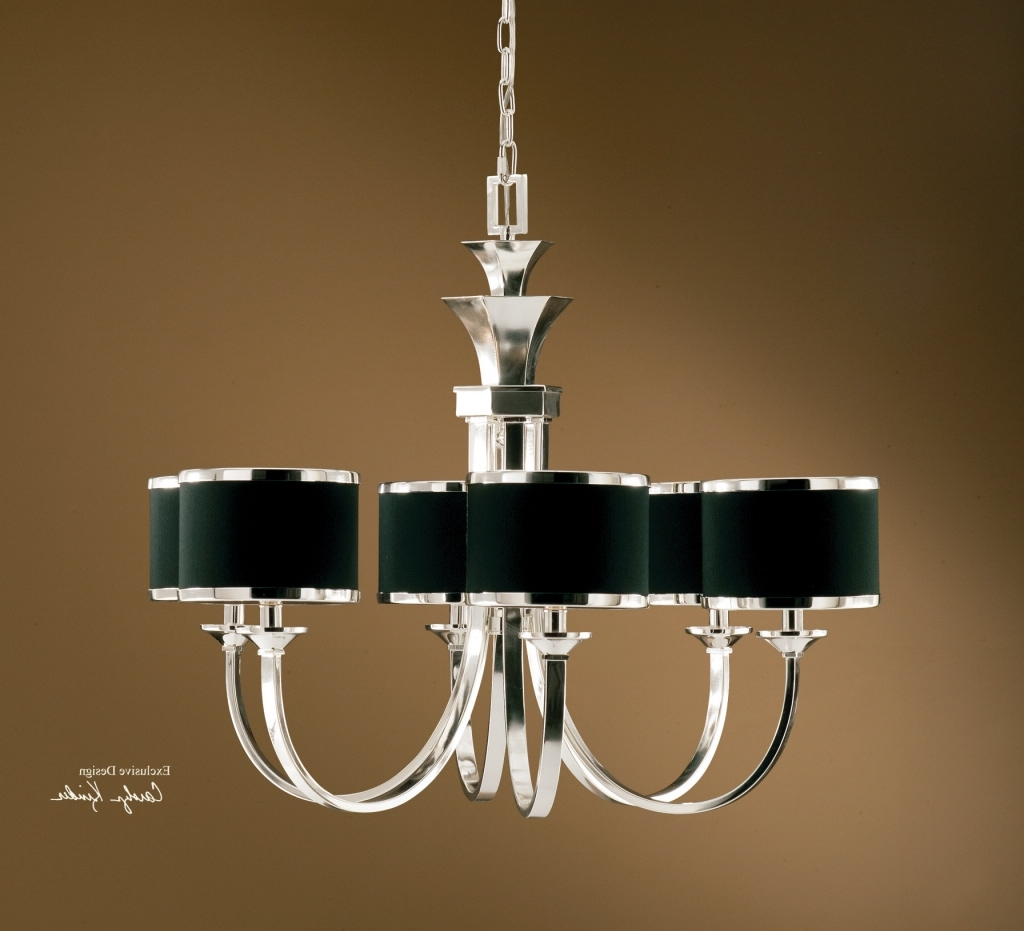Featured Photo of Chandeliers With Black Shades