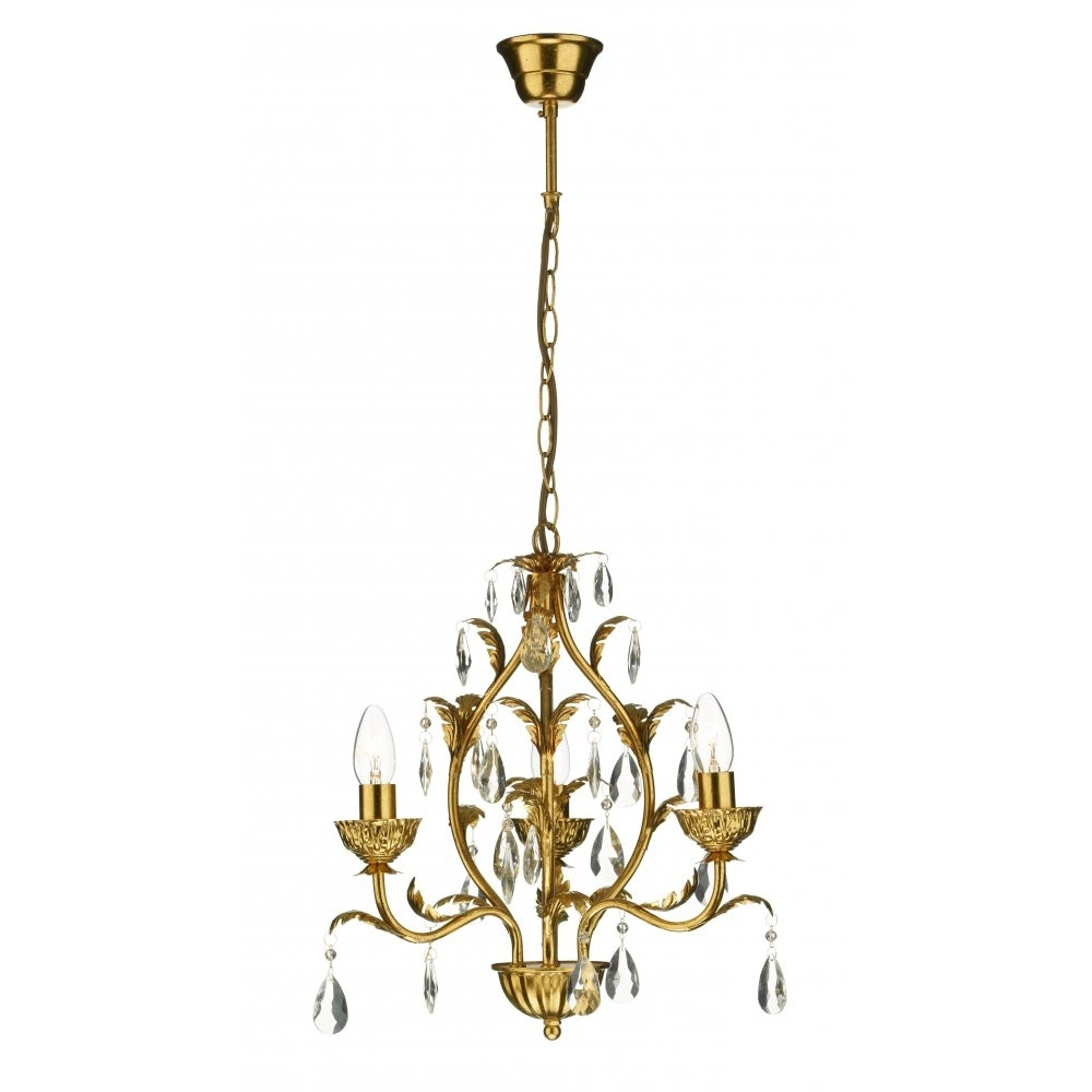 Fashionable Cream Gold Chandelier With Regard To Small Gold Chandelier Fresh Small Gold Ceiling Lights Buy Fern Small (View 13 of 20)