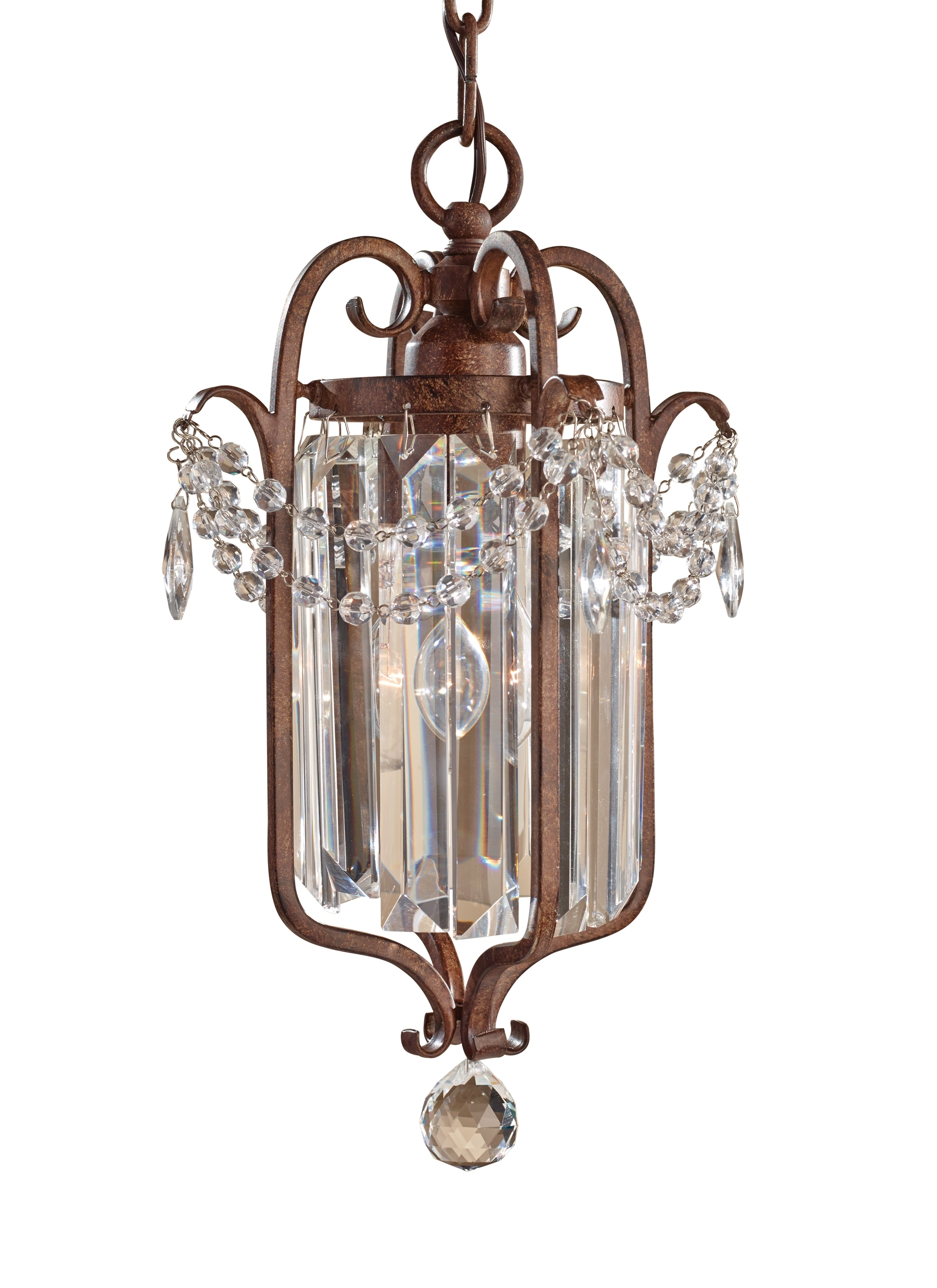 Fashionable F2474/1Mbz,1 – Light Mini Duo Chandelier,mocha Bronze For Gianna Mini Chandeliers (View 7 of 20)