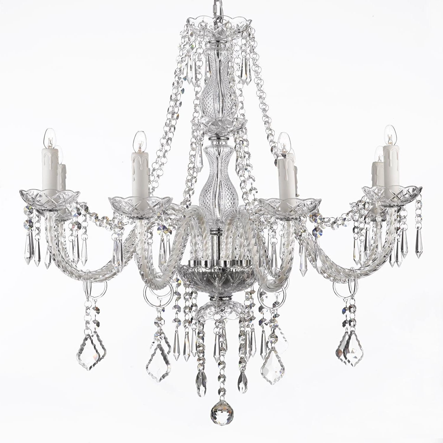 Fashionable Faux Crystal Chandeliers Inside Chandelier (View 5 of 20)