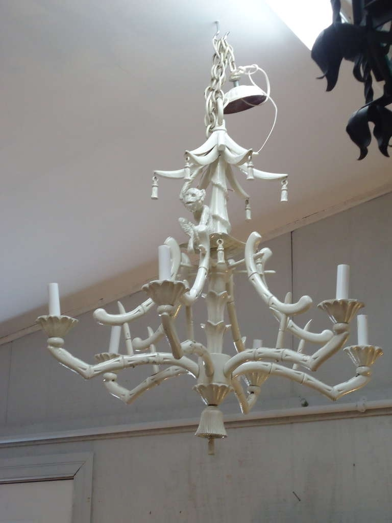 Faux Bamboo Pertaining To Asian Chandeliers (View 11 of 20)