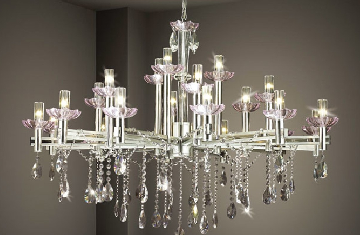 Faux Crystal Chandelier Modern Floor Lamp Black Parts Song Lyrics For Popular Faux Crystal Chandeliers (View 12 of 20)