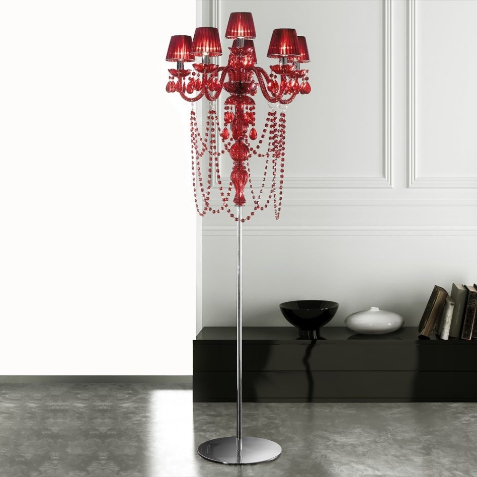 Faux Crystal Chandelier Table Lamps For Well Known Amazing Glass Chandelier Table Lamp Hanging Lantern Floor Vintage (View 5 of 20)