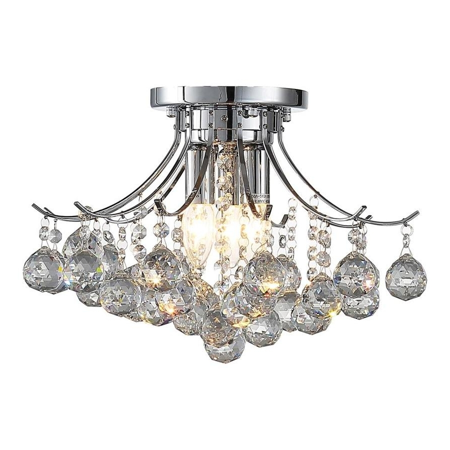Favorite 3 Light Crystal Chandeliers Pertaining To Shop Ove Decors Warsaw  (View 11 of 20)