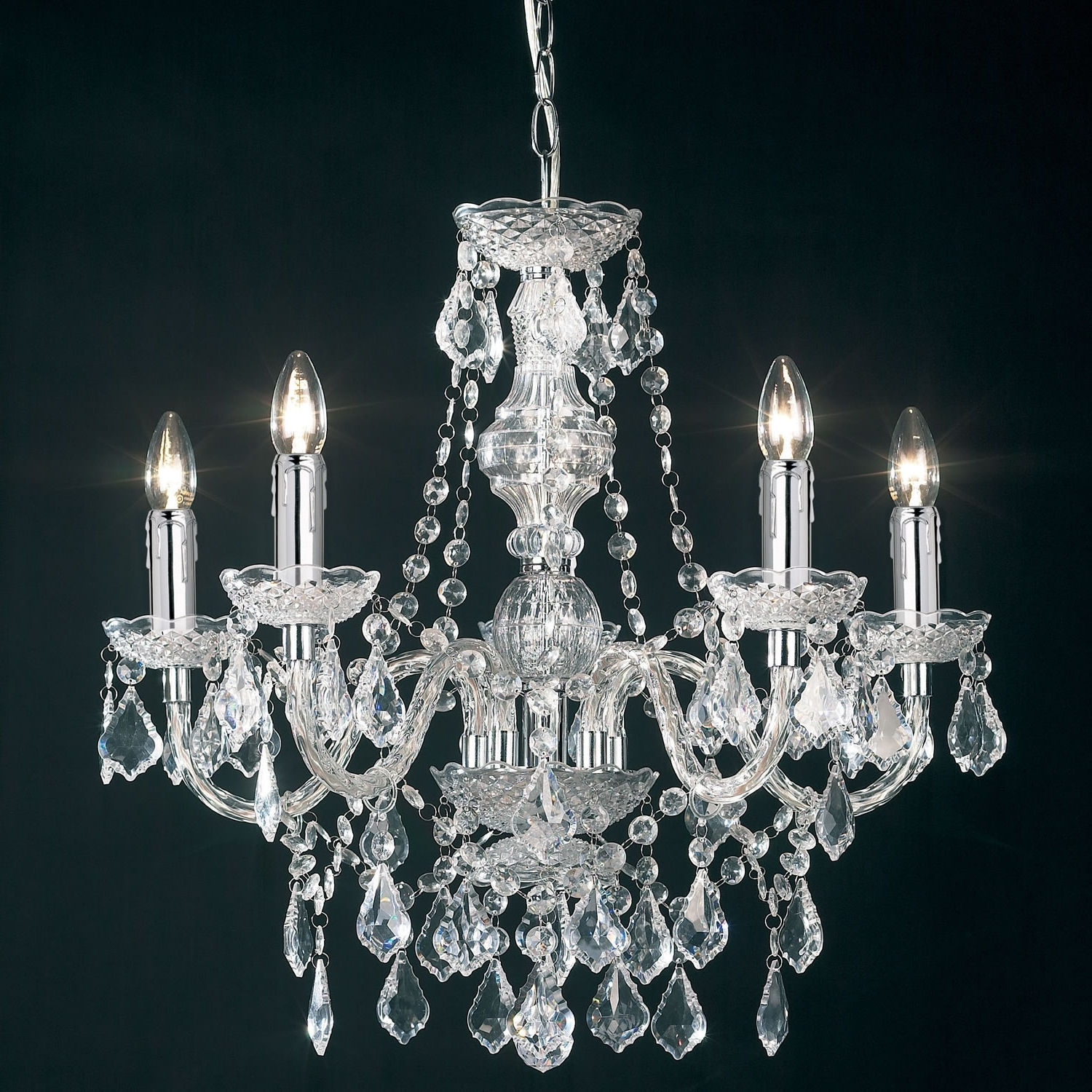 Favorite Acrylic Chandeliers Intended For Acrylic Chandelier – Closdurocnoir (View 12 of 20)