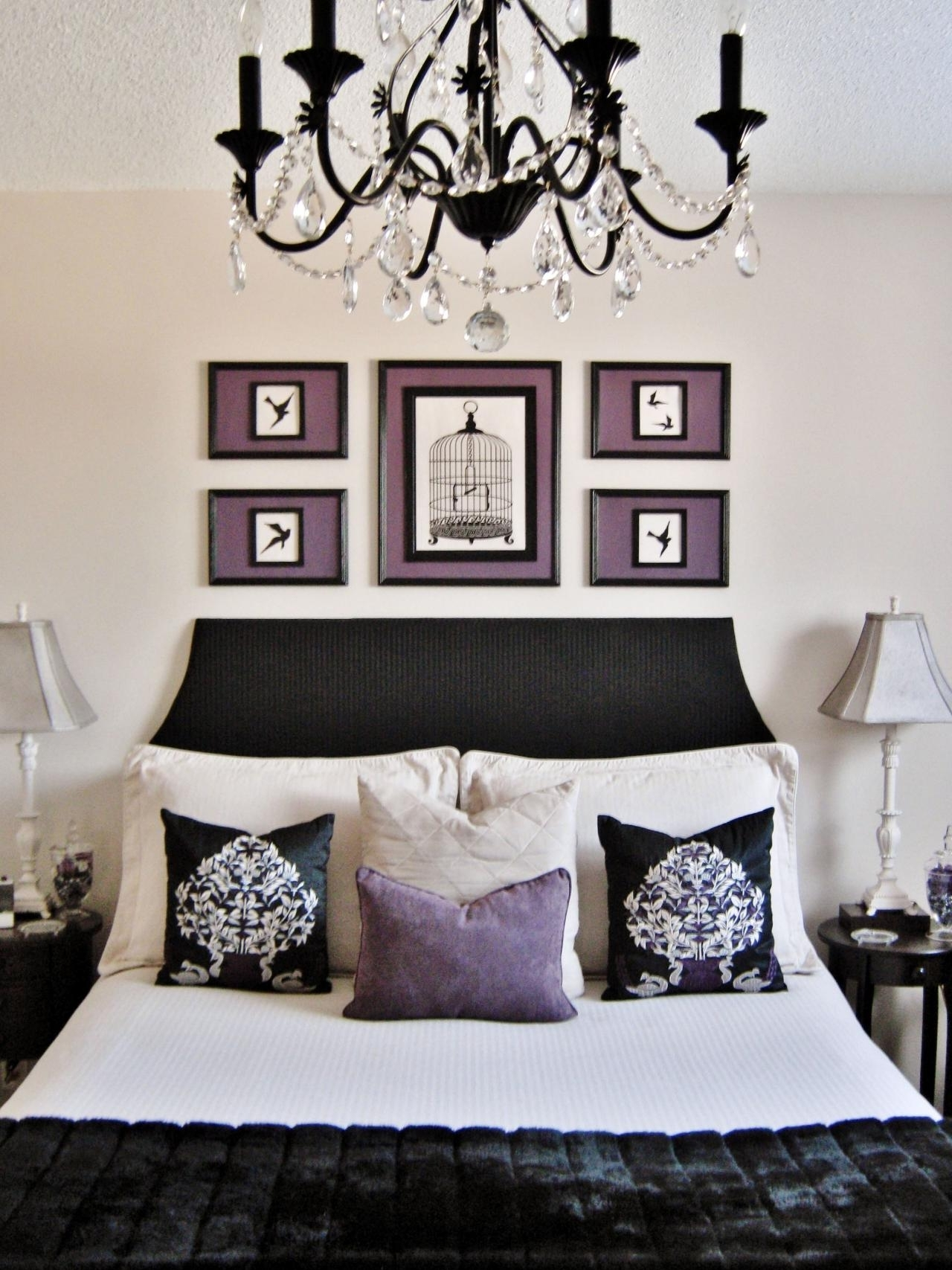 Favorite Black Chandelier Bedroom Throughout Chandelier (View 10 of 20)