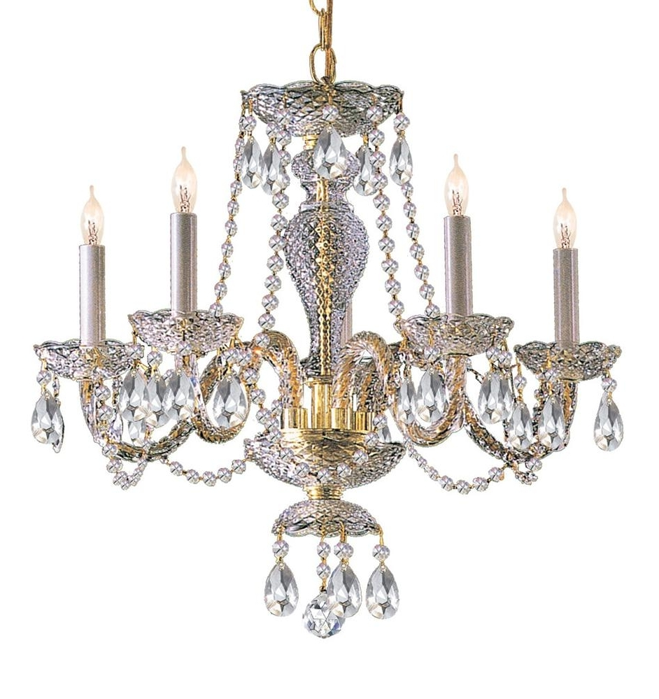 Favorite Brass Crystal Chandelier (View 3 of 20)