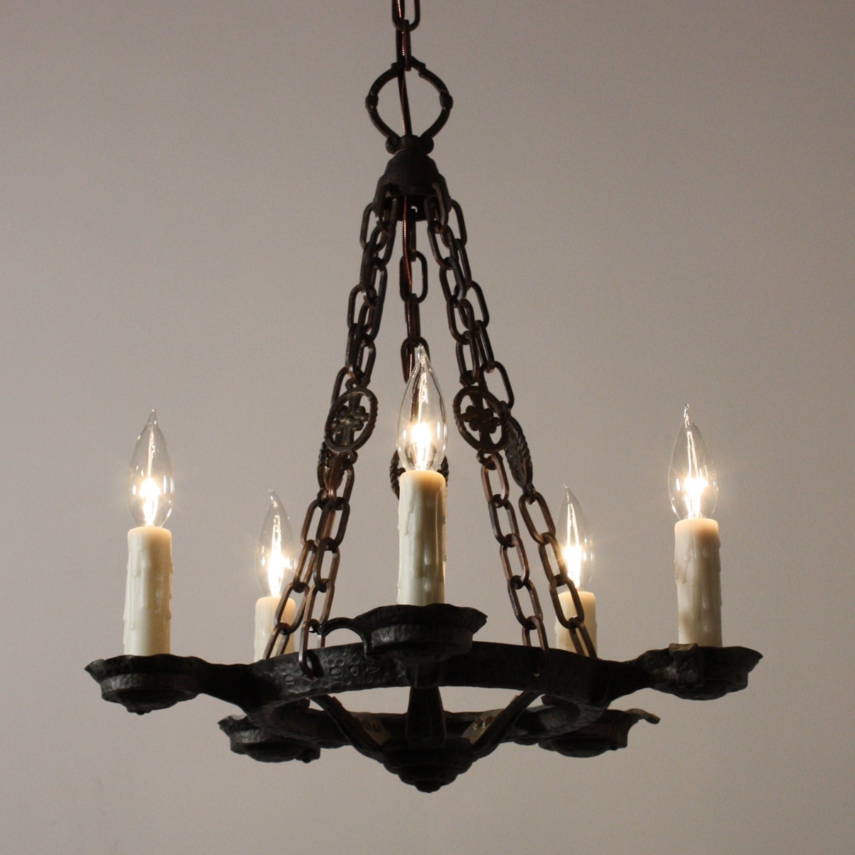 Favorite Cast Iron Chandelier Throughout Chandelier (View 14 of 20)