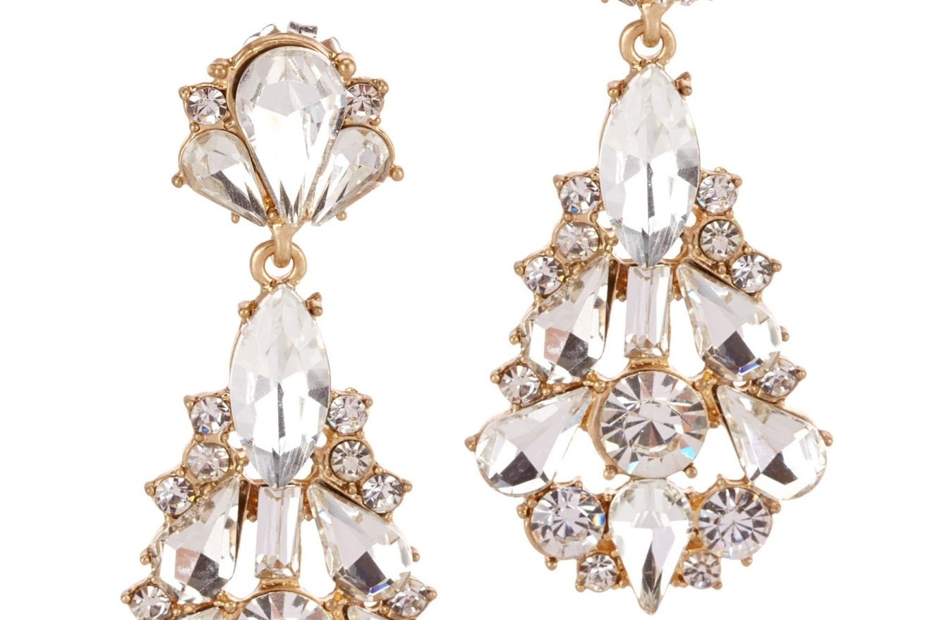 Favorite Chandelier Accessories In Chandelier : Antique Gold Chandelier Earrings Awesome Gold (View 13 of 20)