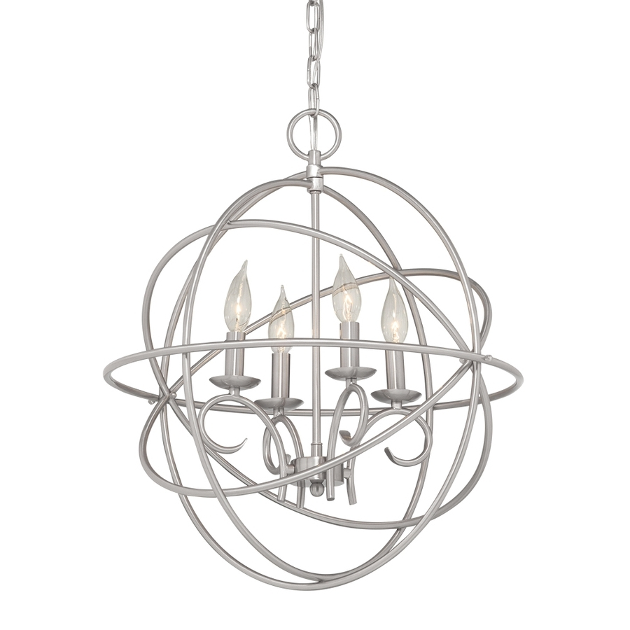 Favorite Chandelier Globe Intended For Shop Kichler Vivian  (View 11 of 20)
