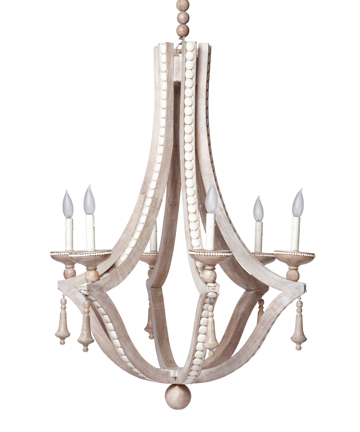 Favorite Cream Chandelier Intended For Cabochon Chandelier, Cream – Emporium Home (View 11 of 20)