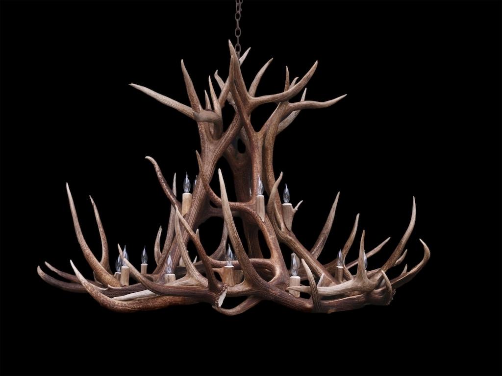 Favorite Large Antler Chandelier In Antler Furniture Antler Chandeliers Antler Lamp Deer Antler (View 5 of 20)