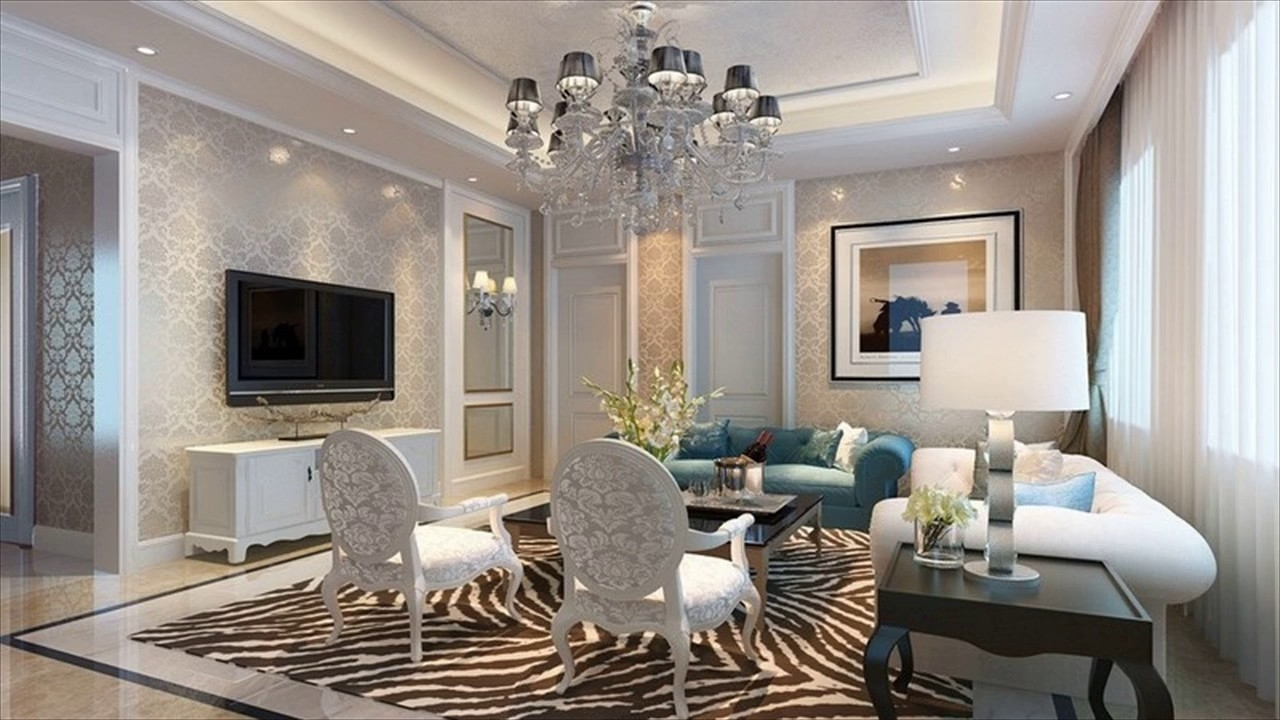 Favorite Living Room Chandeliers In Living Room Ceiling Lights Ideas – Youtube (View 11 of 20)