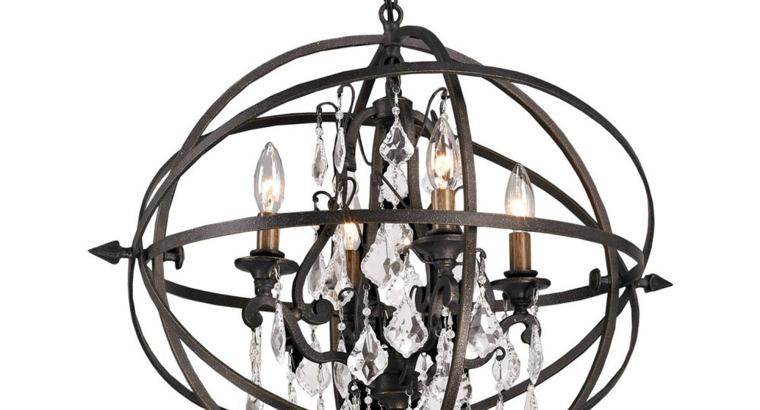 Favorite Orb Chandelier In Chandeliers Design : Wonderful Terrific Extra Large Orb Chandelier (View 11 of 20)