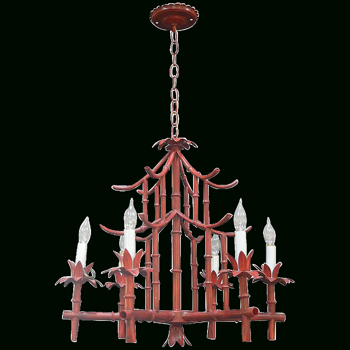 Favorite Viyet – Designer Furniture – Lighting – Vintage 1940s Chinoiserie For Chinoiserie Chandeliers (View 7 of 20)