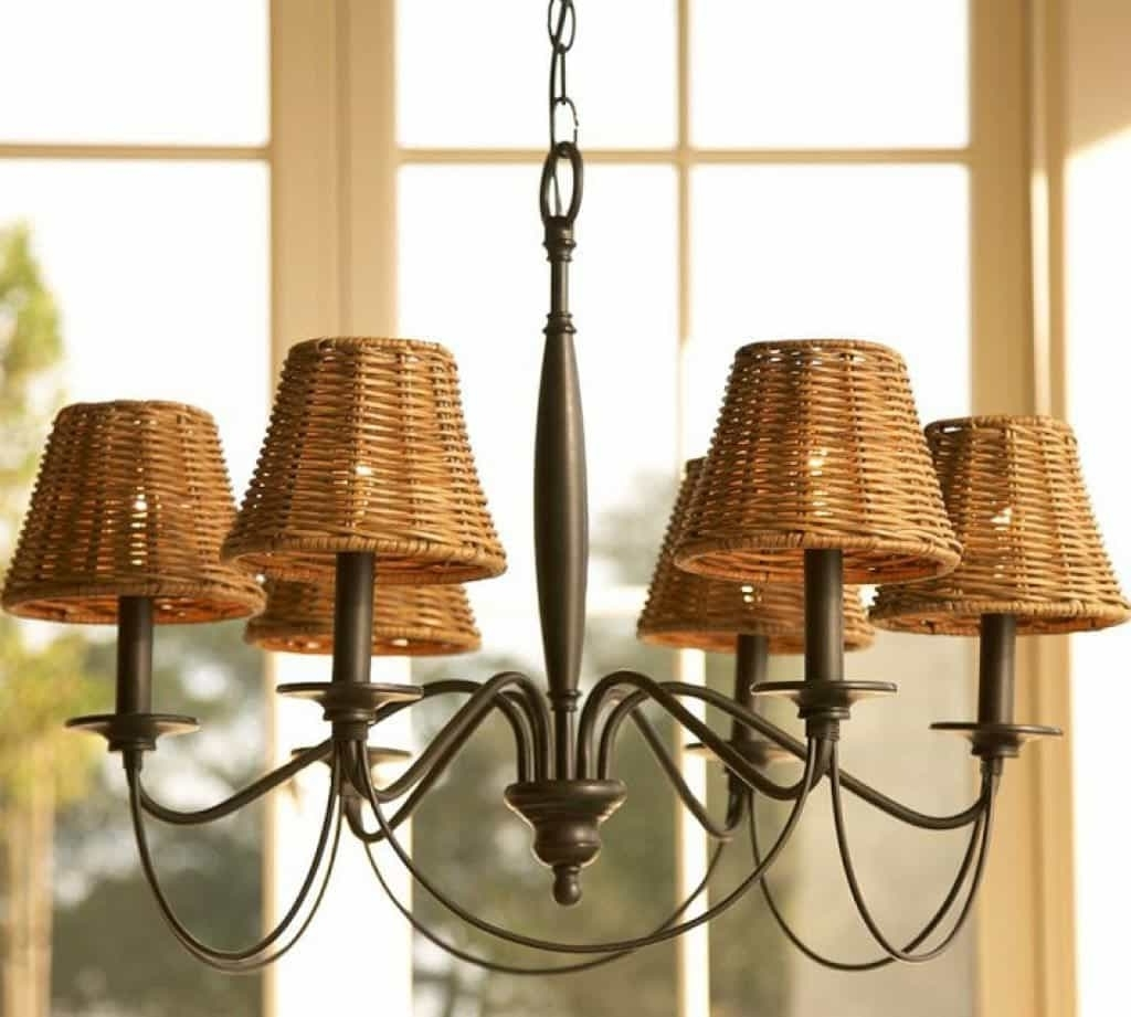 Favorite Wooden Rattan Chandelier Lamp Shades – Dramatic Chandelier Lamp Regarding Chandelier Lamp Shades (View 12 of 20)