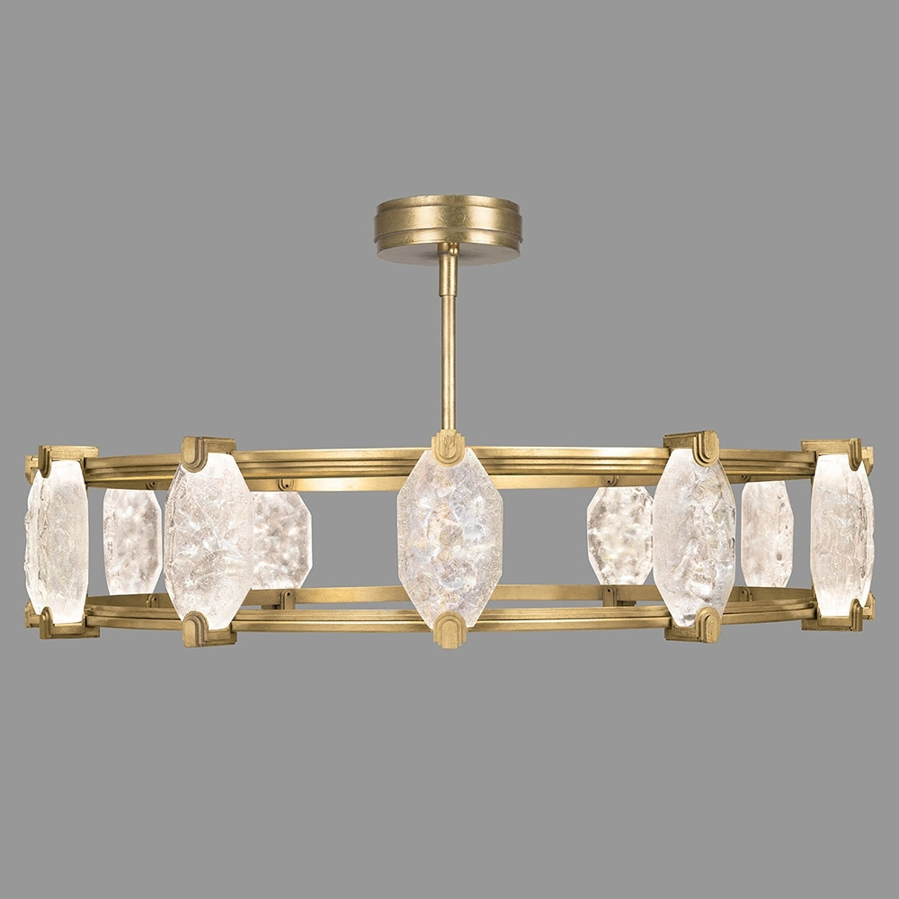 Fine Art Lamps 872940 2St Allison Paladino Modern Gold Leaf Led For Well Liked Contemporary Modern Chandeliers (View 9 of 20)