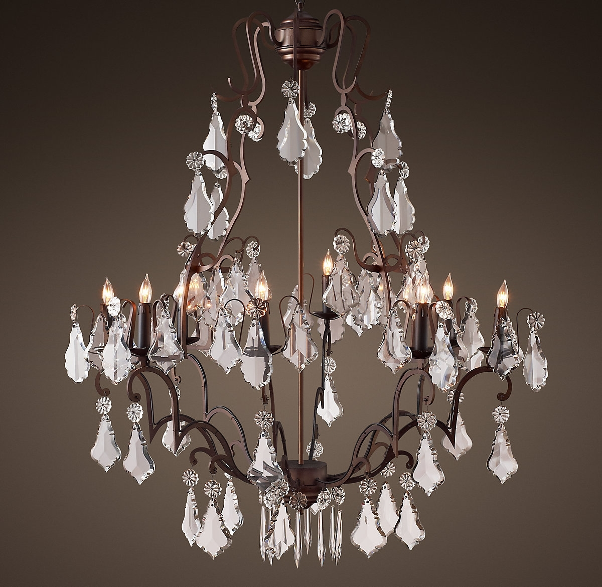 "Florian Crystal Chandelier 40""】美国 价格 图片 掌案 For Trendy Florian Crystal Chandeliers (View 9 of 20)"