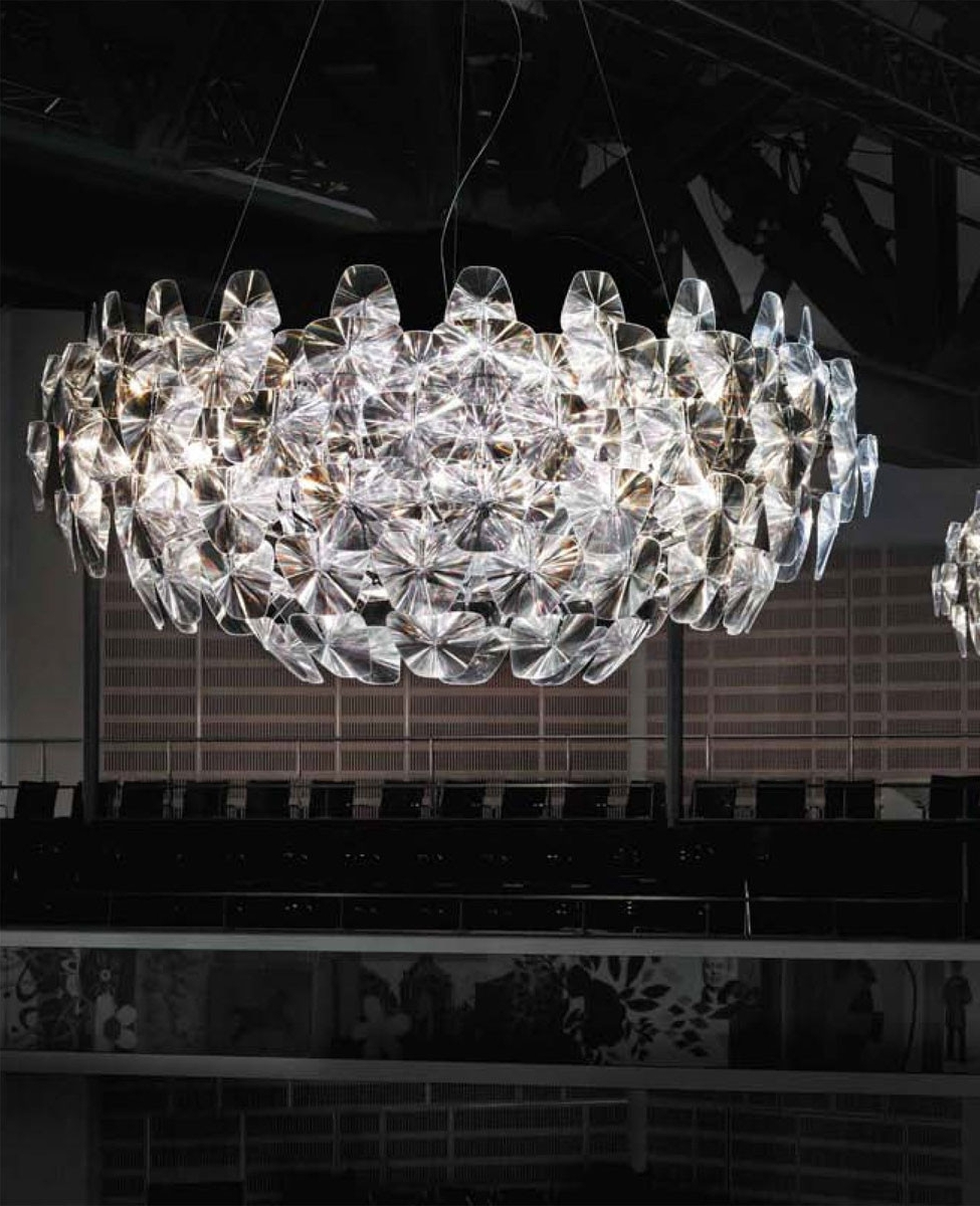 Florian Crystal Chandeliers With Best And Newest Hope D66/105 Pendant Lightluceplan (View 8 of 20)