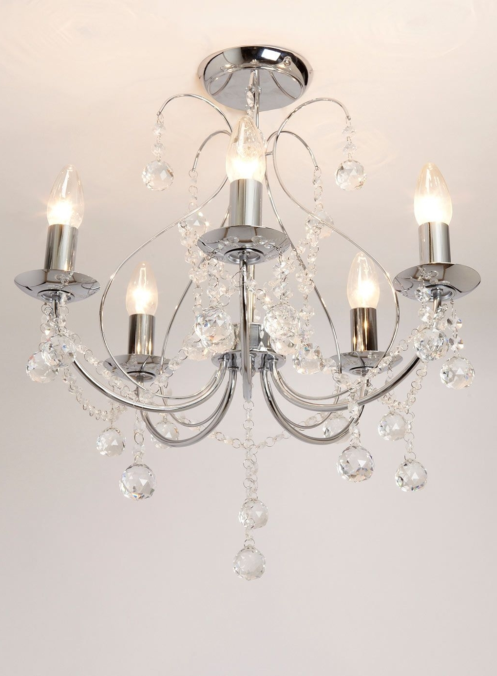 Flush Chandelier With Regard To Famous Living Room Light. (View 11 of 20)