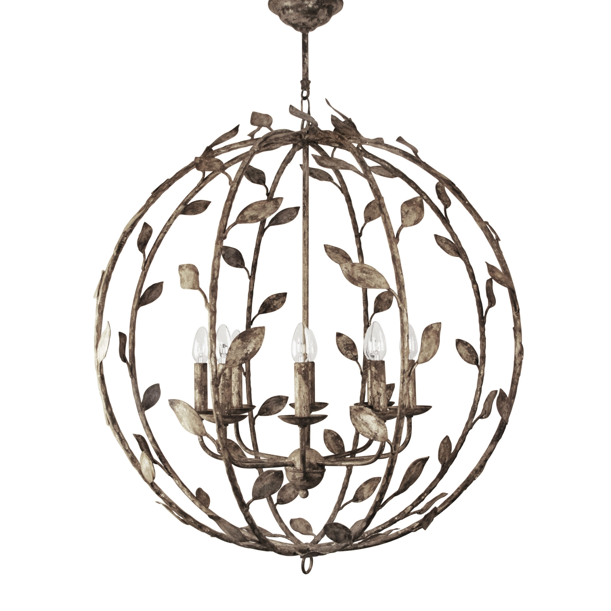 Foliage – Villaverde London With Regard To Most Recent Metal Chandeliers (View 5 of 20)