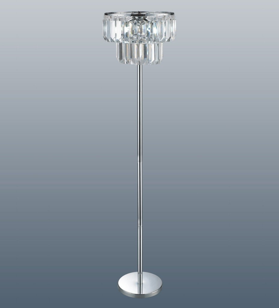 Free Standing Chandelier Lamps Intended For Widely Used Chandelier Crystal Table Lamp Western Floor Lamps Twig Ceiling To (View 6 of 20)