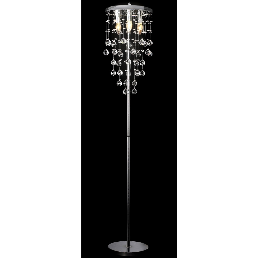Free Standing Chandelier Lamps With Latest Chandelier Floor Lamp Awesome (View 8 of 20)