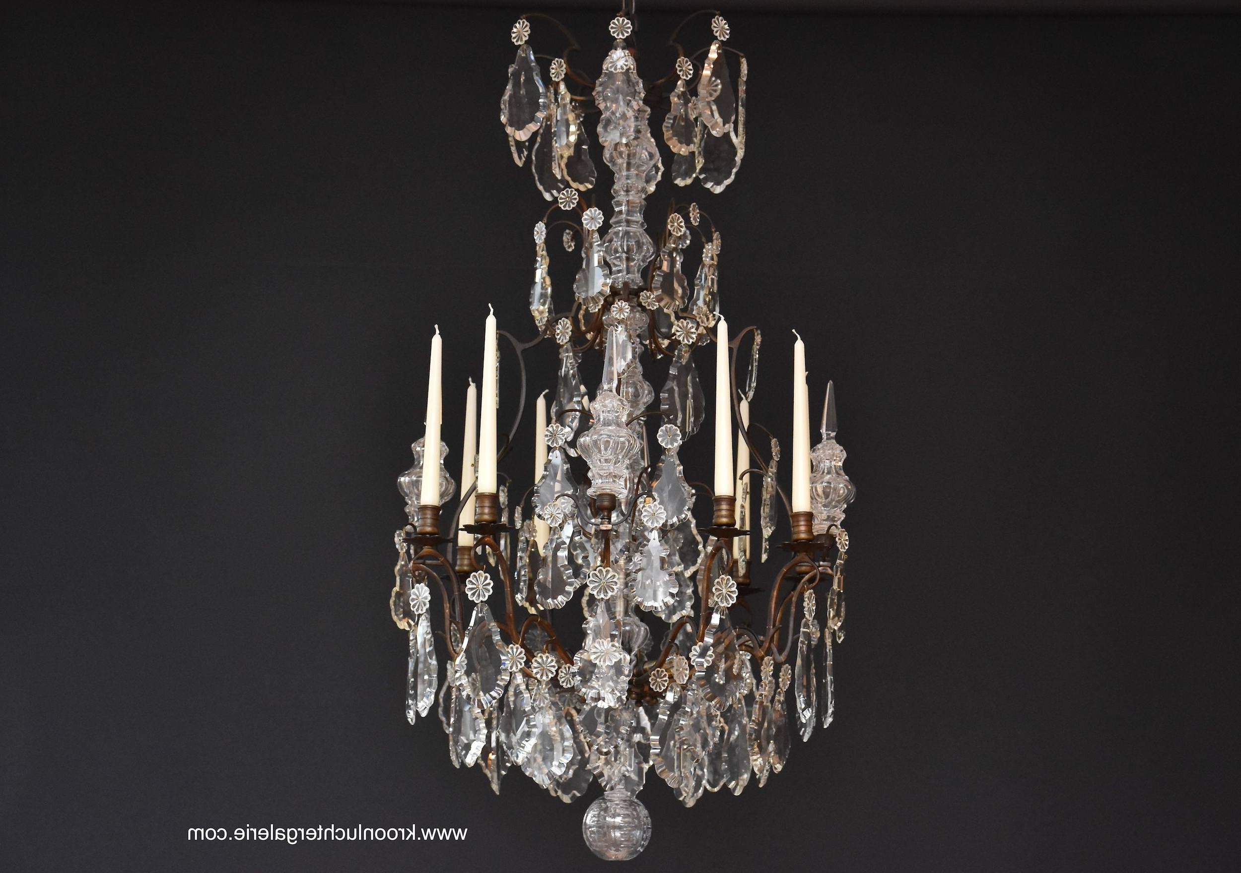 French Chandelier With Regard To Widely Used French Chandelier In Style Of Louis Xv, Ref (View 7 of 20)