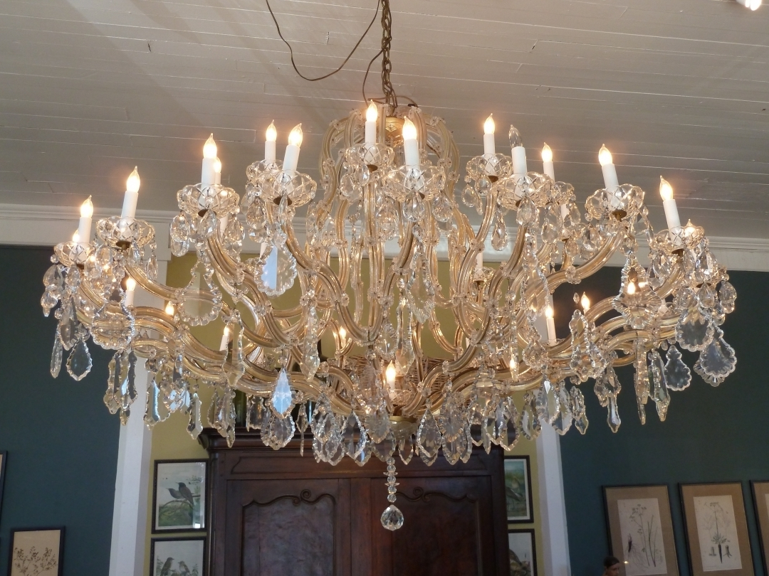 French Chandeliers Regarding Most Recent Chandelier: Stunning French Crystal Chandelier French Empire (View 10 of 20)