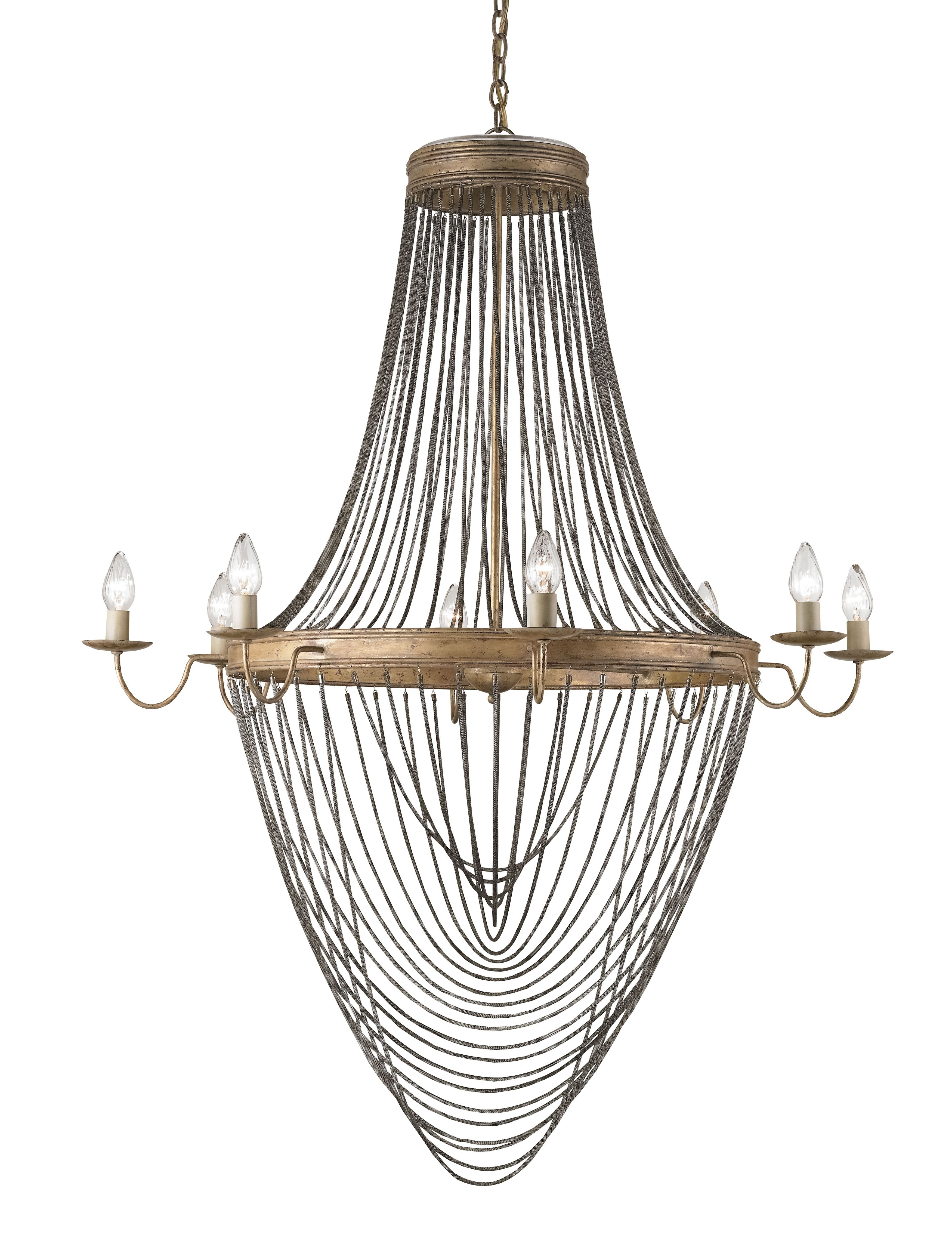 French Gold Chandelier Throughout Well Known Currey & Co (View 10 of 20)