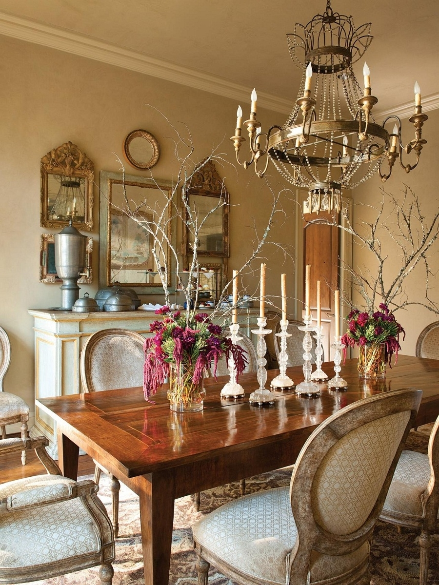 French Gold Chandelier With Well Known Accessories: Appealing French Country Chandelier For Your Home (View 13 of 20)