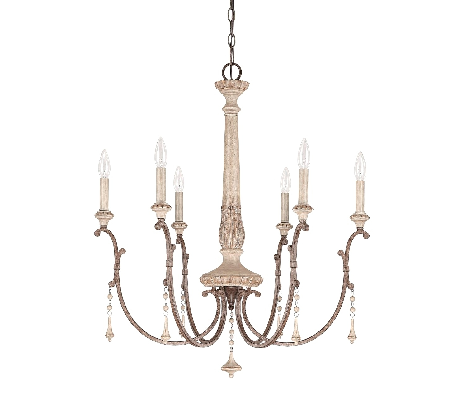 French Wooden Chandelier For Most Recently Released Light : Chandelier Creative. Foyer Lighting (View 6 of 20)