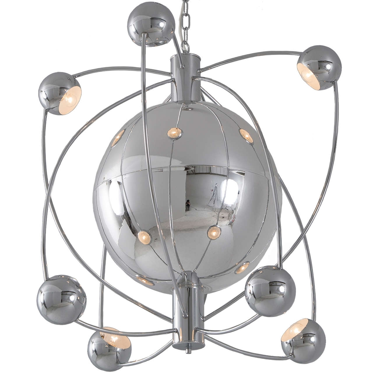 From A Unique Collection Within Well Known Atom Chandeliers (View 14 of 20)