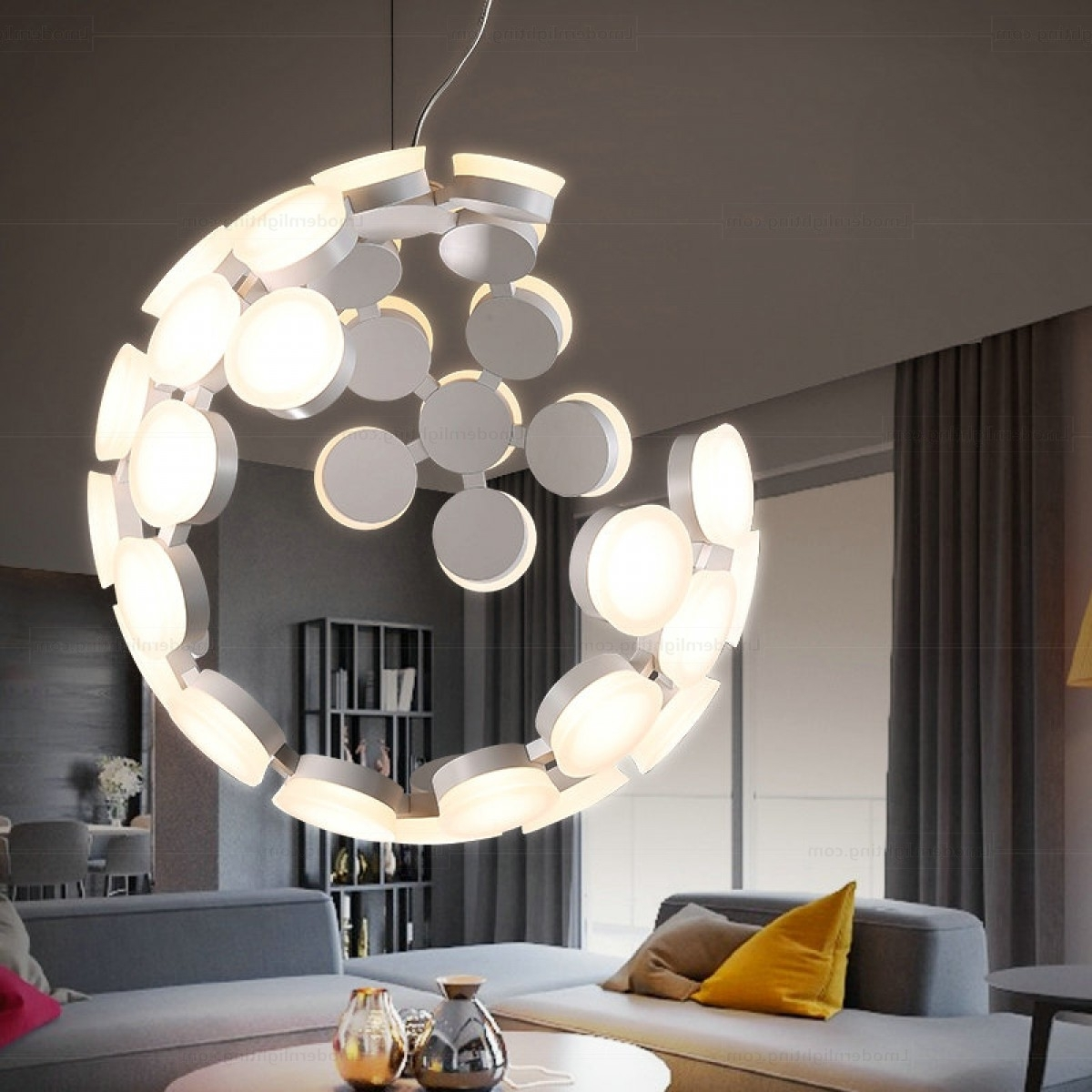 Furniture : Modern Lighting Sublime All Design Contemporary Light Inside Popular Contemporary Modern Chandeliers (View 18 of 20)