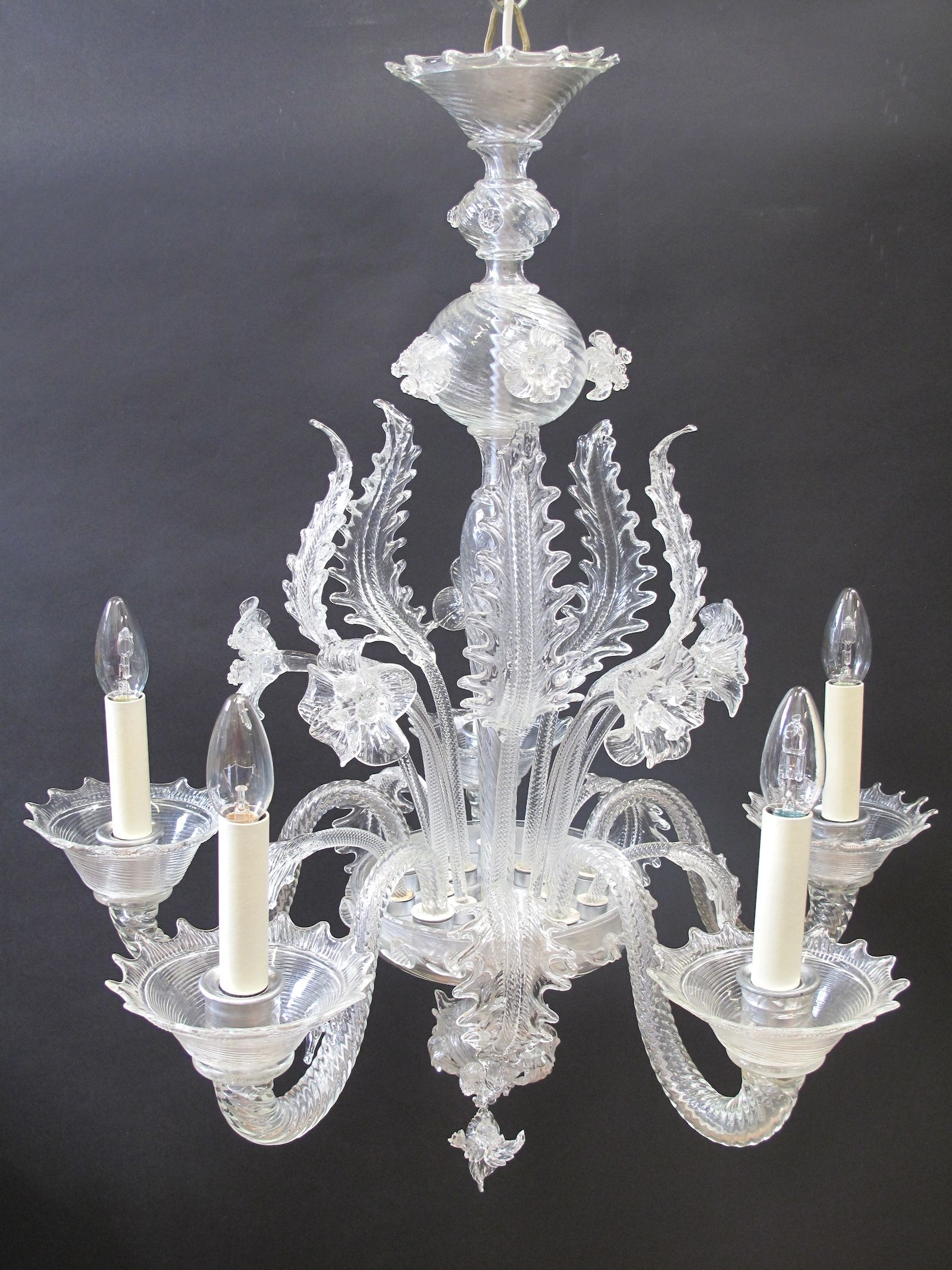 G & P Cohn – Antique Chandeliers, Repairs & Restoration Intended For Trendy Murano Chandelier (Gallery 17 of 20)