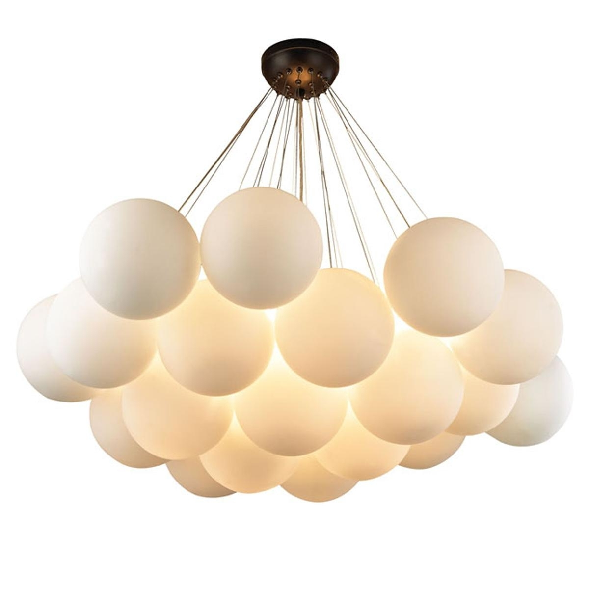Gathered Globe Chandelier – Large (Gallery 17 of 20)