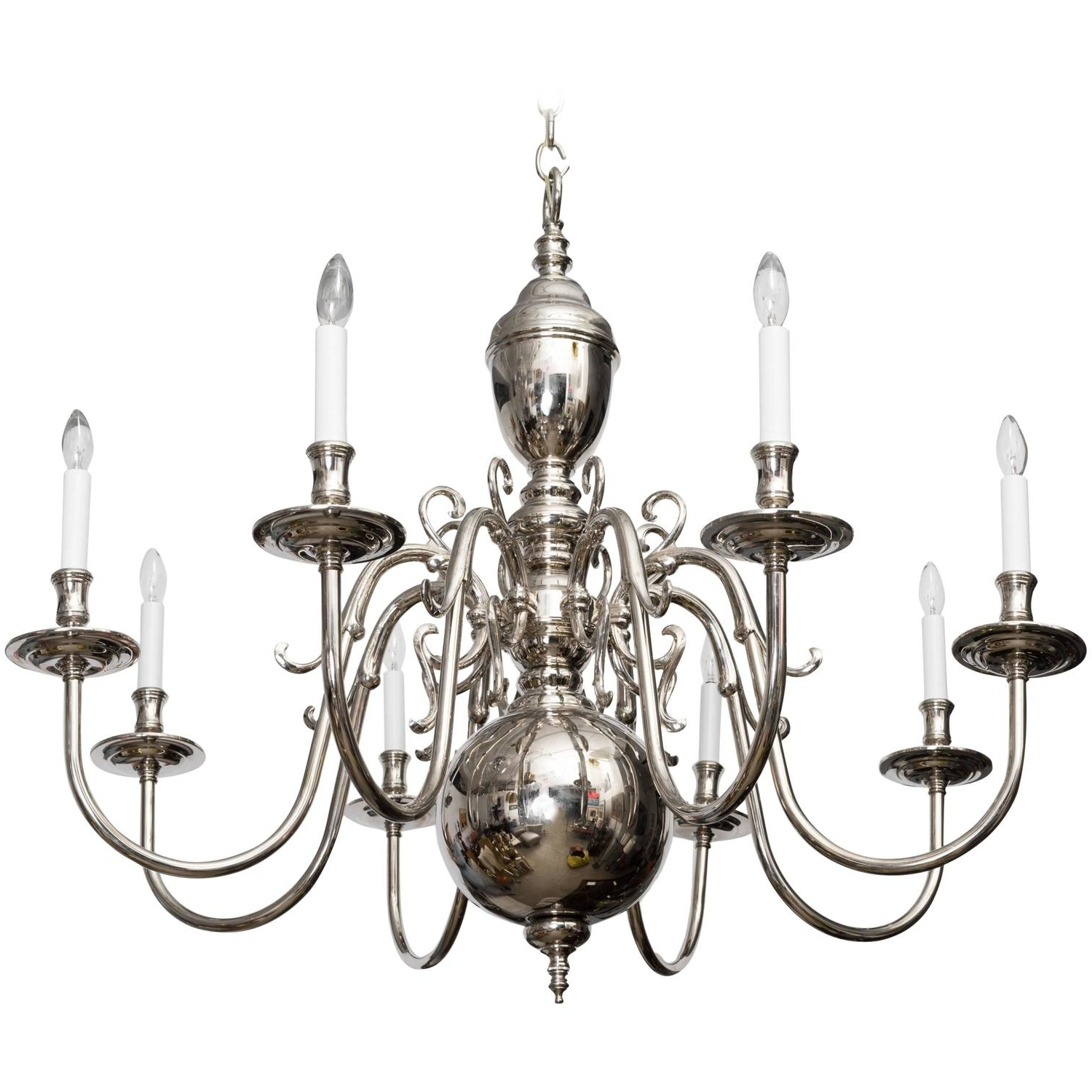 Georgian Chandeliers Throughout Most Recent Grand Scale Georgian Style Chandelier (View 11 of 20)