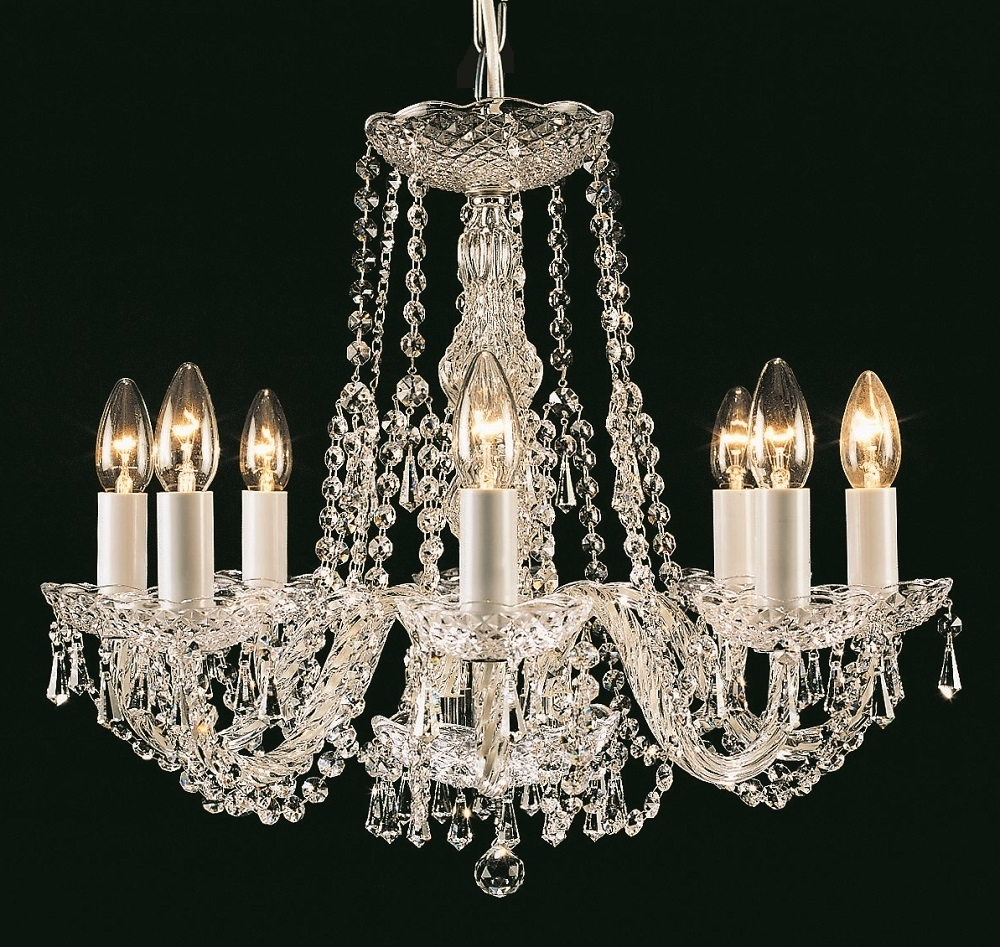Georgian Crystal Chandeliers (Gallery 6 of 20)