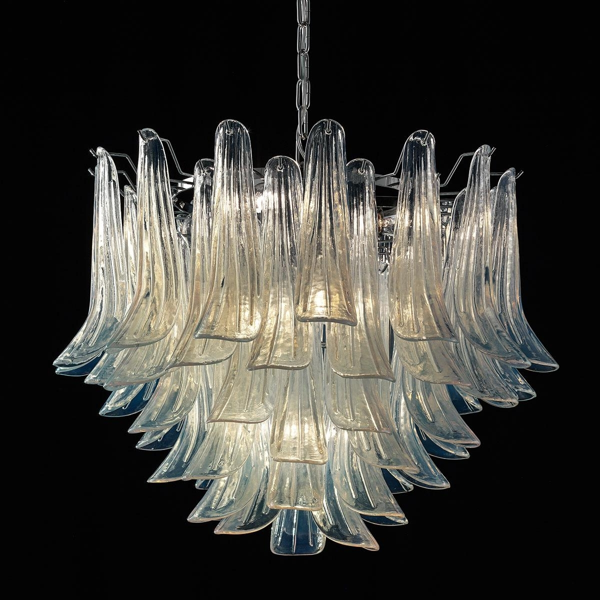 "Glass Chandeliers With Widely Used Mildred"" Murano Glass Chandelier – Murano Glass Chandeliers (Gallery 8 of 20)"