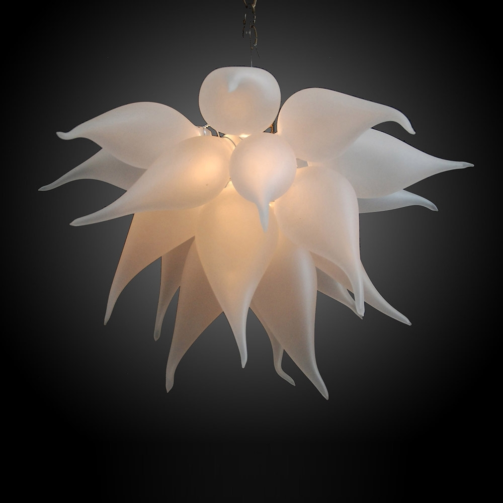 Glass Chandeliers Within Most Current Buy The Bella Fiore 169 Hand Blown Glass Chandelier (Gallery 13 of 20)